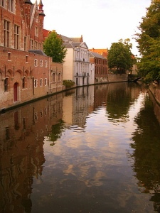 Bruges Canal by Trent Strohm from Flickr