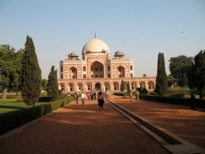 Humayun's Tomb, Delhi India by Sue Dickman