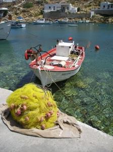 Fishing Boat at Chyssopigi, Siphnos, Greece