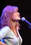 Eddi Reader singing at Celtic Connections in Glasgow